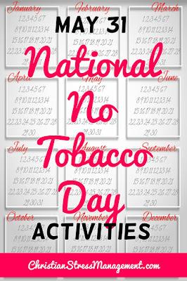 May 31 National No Tobacco Day Activities
