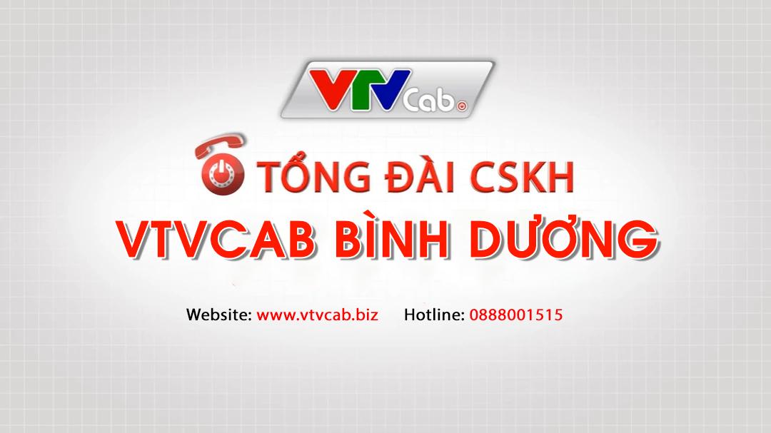 Tổng đài VTVcab tại Bình Dương