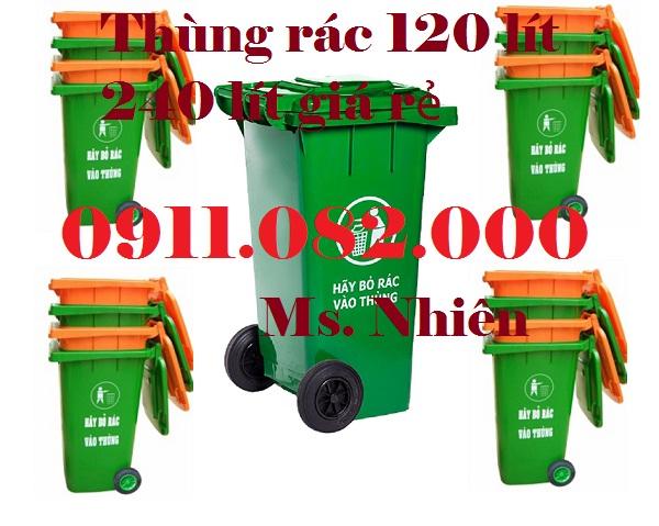 Bán thùng rác siêu rẻ, thùng rác nhựa, thùng rác 120 lít 240 lít giá rẻ