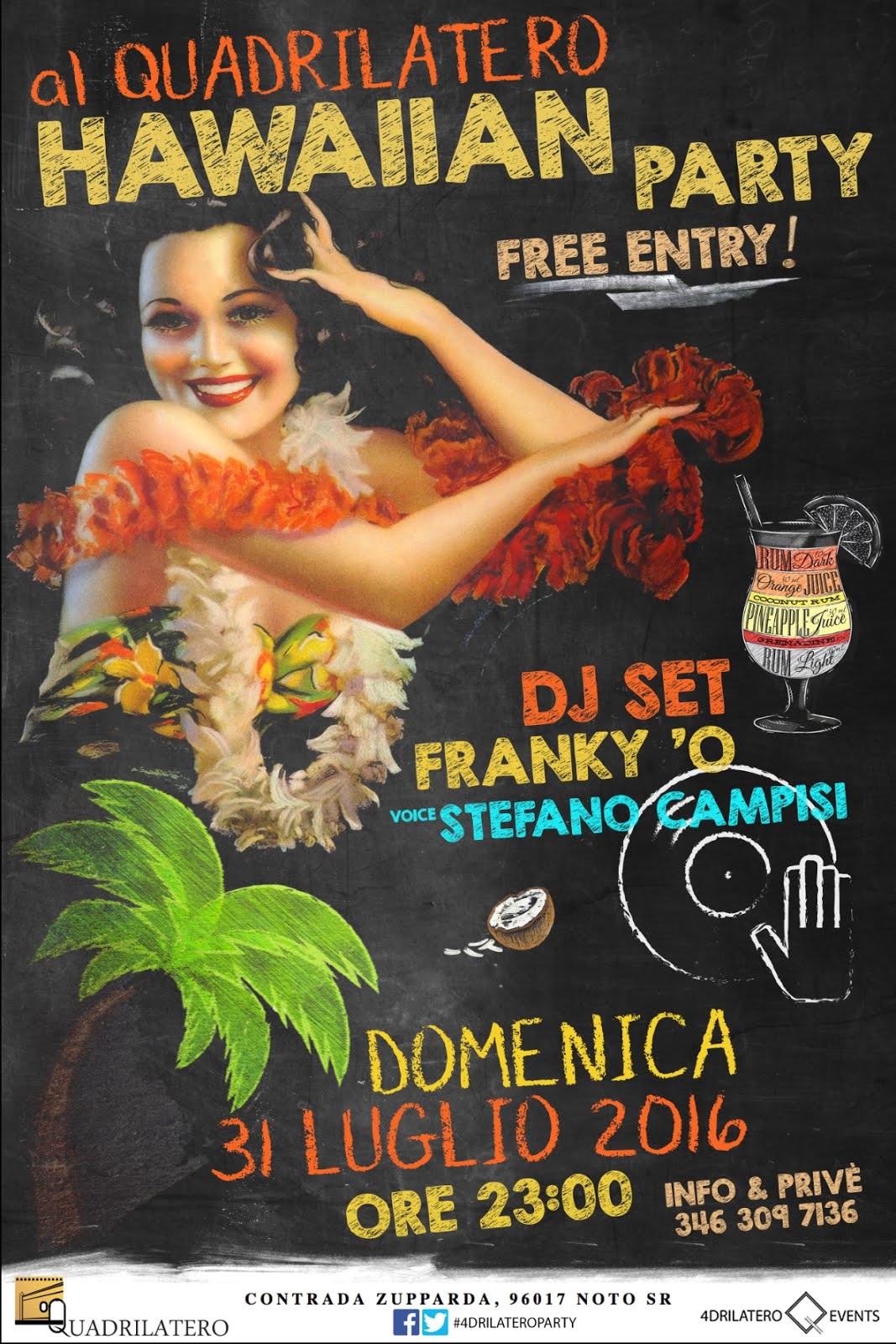 Past Event: HAWAIIAN PARTY::: FREE ENTRY!