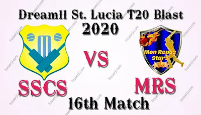 Who will win SSCS vs MRS 16th T10 Match