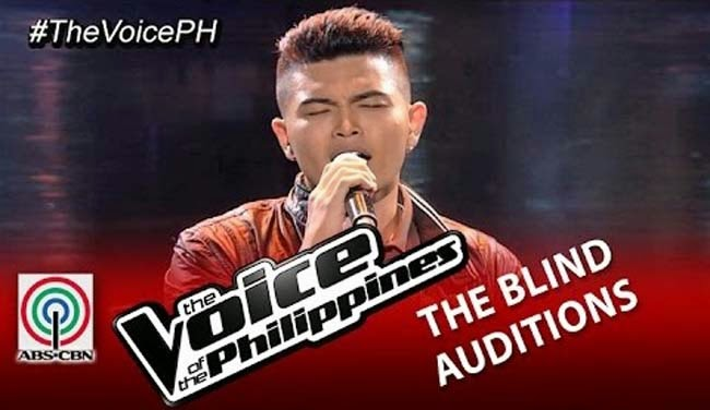 Darryl Ong Sings 'Paano' on The Voice of the Philippines Season 2 Blind Audition