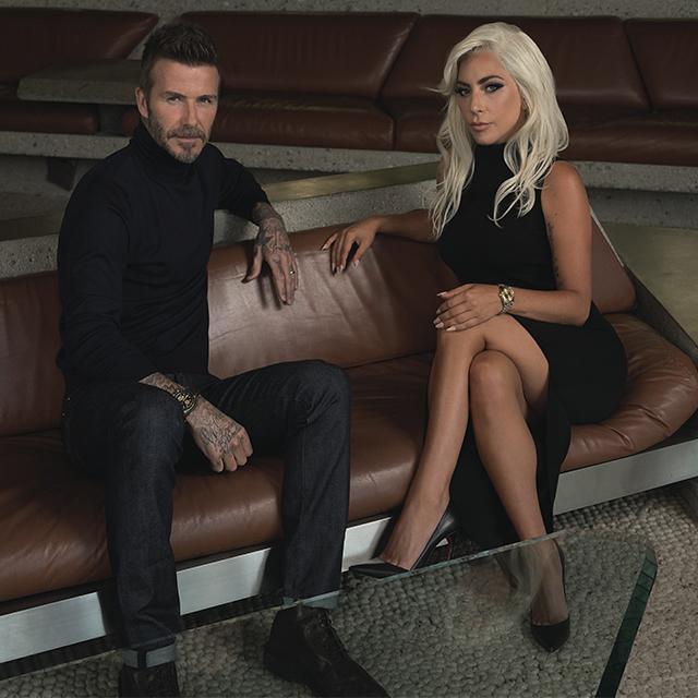 When Lady Gaga Meets David Beckham