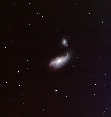 galaxy NGC 4490 in colour