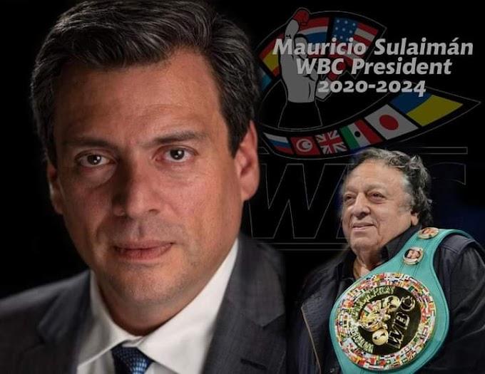 Mauricio Sulaimán Saldivar 2021
