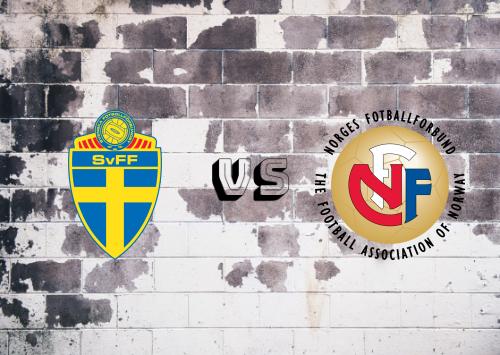 Suecia vs Noruega  Resumen y Partido Completo