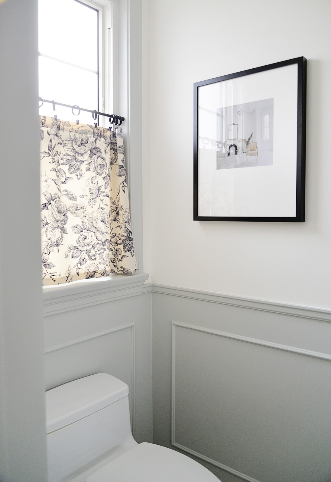 bathroom wainscot, traditional moulding, traditional wainscotting, shiplap alternative
