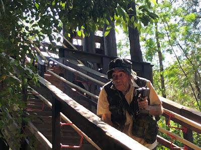 Ivo na nova câmera Predadores Assassinos (Divulgação/SBT)