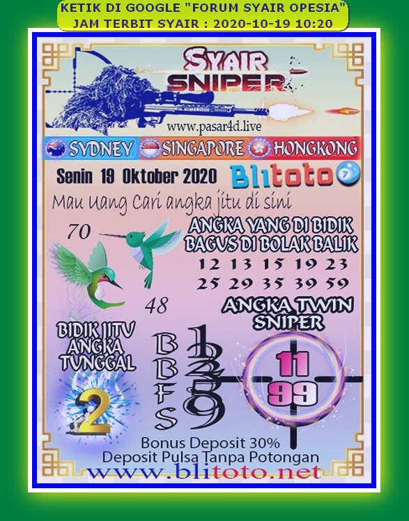 Kode syair Hongkong senin 19 oktober 2020 139