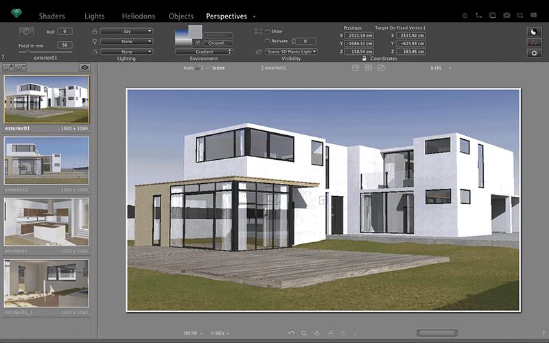تحميل برنامج  Artlantis 2019 8.0.2.20738 لإنشاء تصميمات ثلاثية الأبعاد بالظل والواقعية والملمس والضوء بشكل خاص