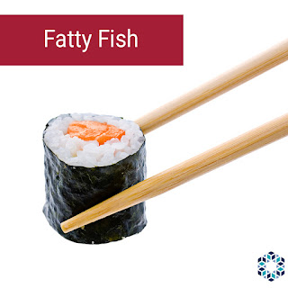 Fish is a staple of the Japanese diet. The benefits of fish are likely due to the omega-3 fatty acid content, specifically EPA and DHA.