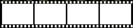Film strip o tira de rollo de pelicula