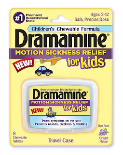 Dramamine Less Drowsy Alcohol