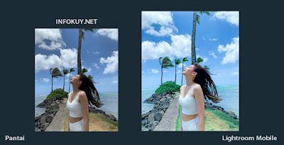 Tutorial Edit Foto Pantai Lightroom