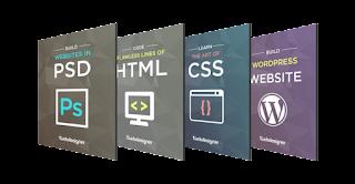 كورس Build Flat,Responsive WordPress Site