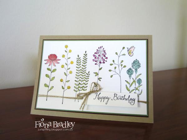 Flowering Fields Birthday
