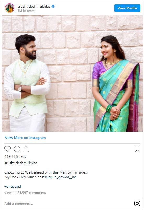 srushti jayant deshmukh marriage