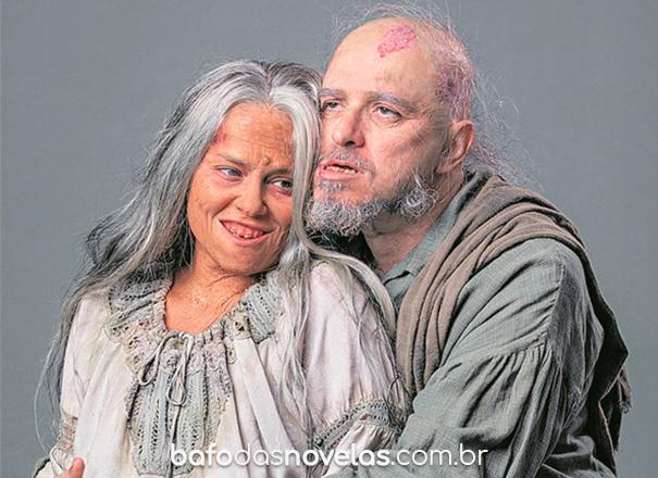 """Personagens Licurgo e Germana ficaram pouco tempo em """"Nos tempos do Imperador"""""""