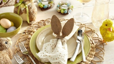 Ideias de decoração de mesa para a páscoa (mesmo na quarentena)