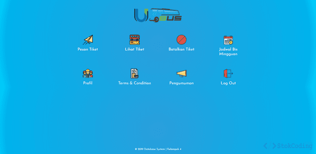 Aplikasi Pemesanan Tiket Bus Berbasis Web (PHP)