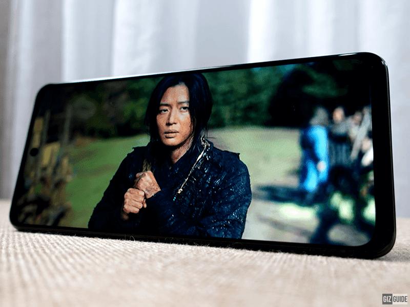 A beautiful 120Hz 6.6-inch LTPS screen