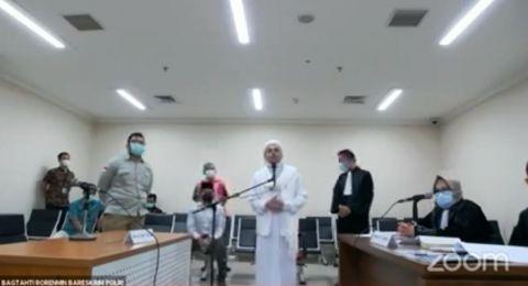 Didakwa Kasus Megamendung, Jaksa Sebut Habib Rizieq Tak Bisa jadi Tokoh Panutan