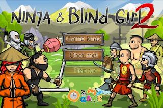 Game Ninja và cô gái mù 2 game bảo vệ cực hay