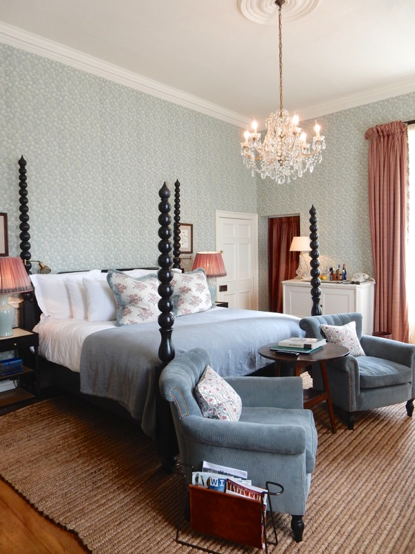 Babington House main bedroom