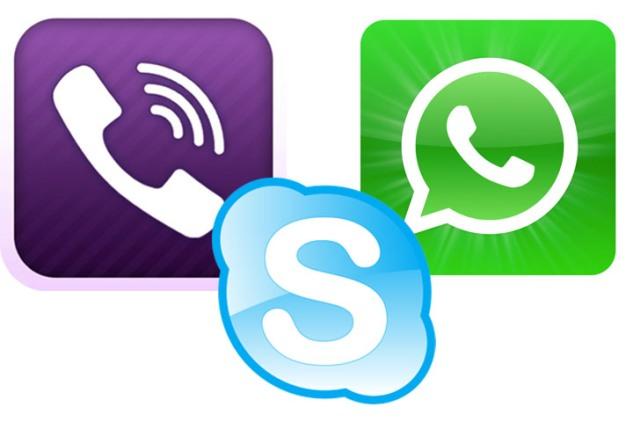 Viber vs Tango vs Skype vs Whatsapp