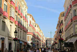 Beautiful Streets Malaga Spain