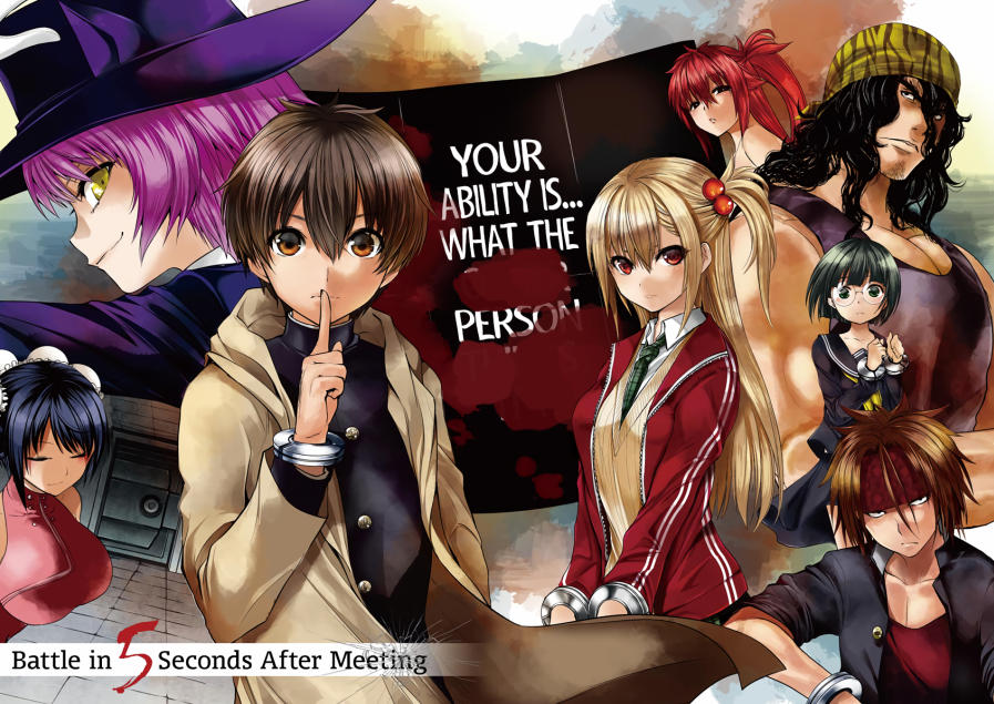 Deatte 5-byou de Battle - bohaterowie mangi i anime