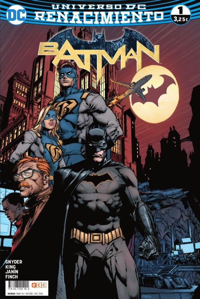 Batman nº56/1 Renacimiento