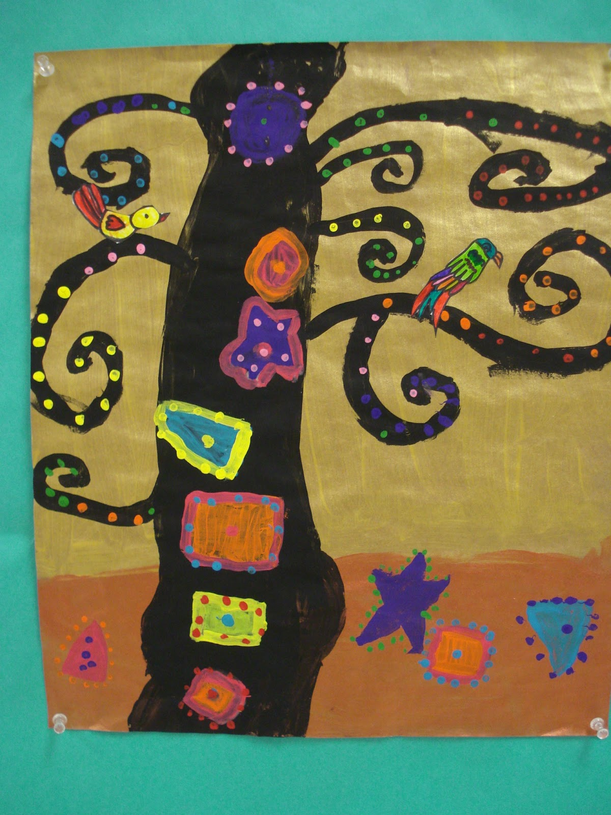 Color For Everyone Tree Of Life Second Grade Art Lessons
