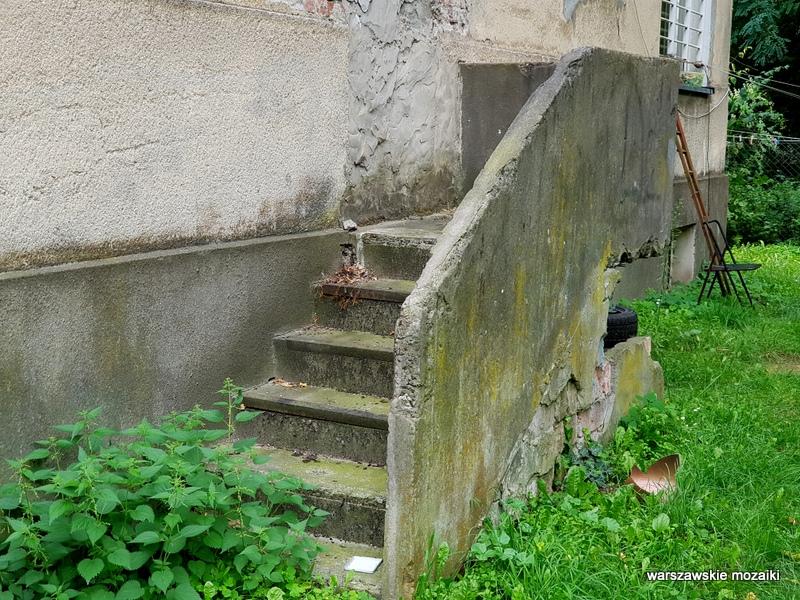 warszawa warsaw młociny miasto ogród willa architektura bielany schody