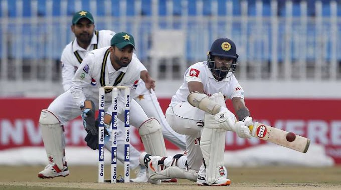 Bad weather limits 2nd day of Pakistan-Sri Lanka Test