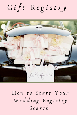 Before you decide where you'll register, figure out what -Wedding Soiree Blog by K'Mich, Philadelphia's premier resource for wedding planning and inspiration - Black car with gifts in the trunk - weddingbuzz.com