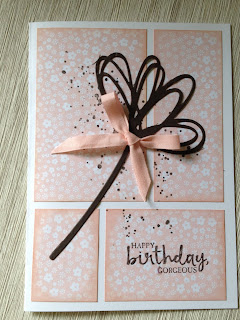 Pink Pirouette zena kennedy independent stampin up demonstrator