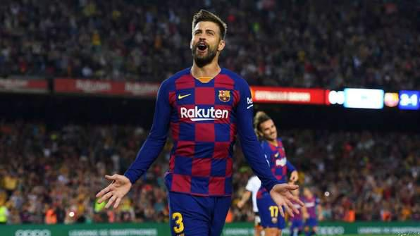 Pique Plans to Retire at Barca by 2022