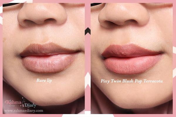 Pixy Twin Blush Pop review