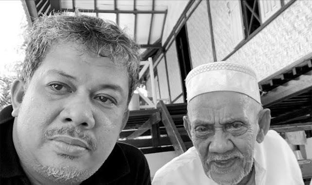 Kabar Duka, Ayahanda Fahri Hamzah Meninggal Dunia