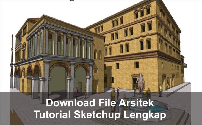 download Tutorial Sketchup lengkap pdf