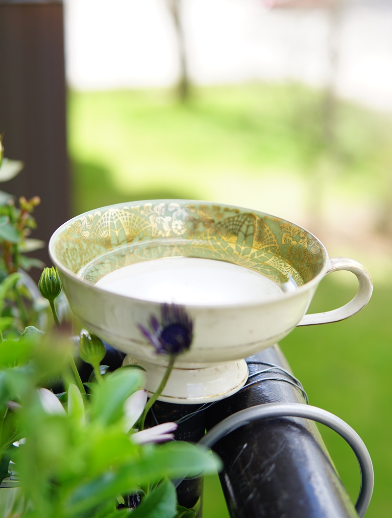 parveke, teekuppi