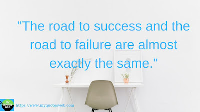 Best Success Quotes - The road to success