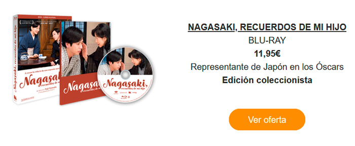 Nagasaki, recuerdos de mi hijo - Mediatres Estudio