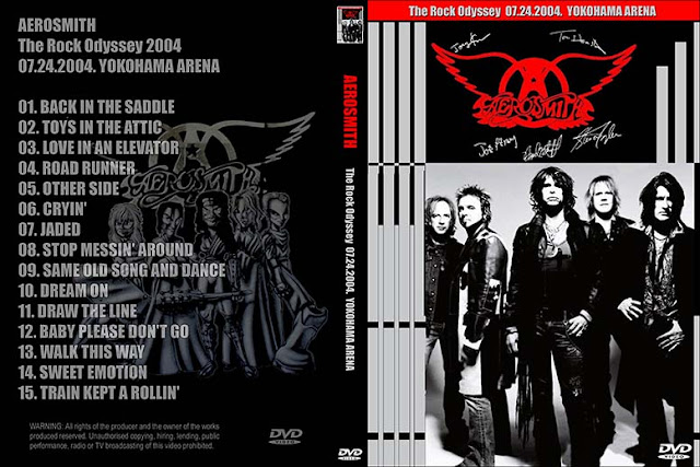 Aerosmith - Live Yokohama, Japan 2004 DVD