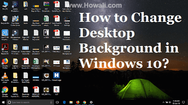 How to Change Desktop Background in Windows 10