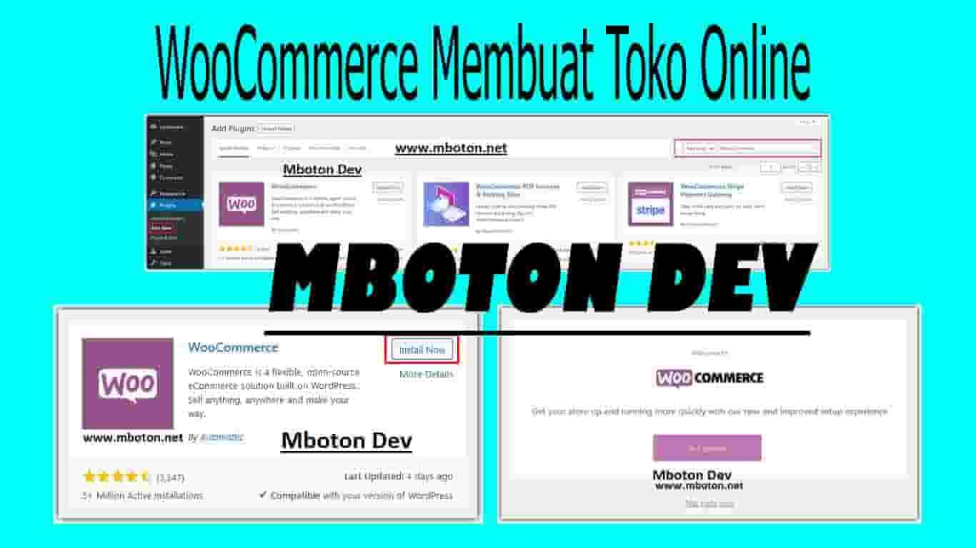 WooCommerce Membuat Toko Online