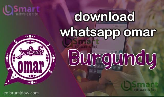 Download Watts Omar Burgundy OBWhatsapp omar latest version link