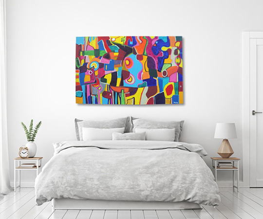 abstract painting, contemporary painting, original painting, modern painting, buy paintings, buy art online, gallery painting, Sam Freek, Egg Punk,