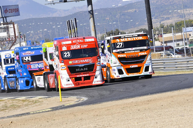 The incredible and alternative world of the European Truck Championships